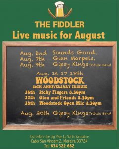 Live Music at the Fiddler @ The Fiddler | Comunidad Valenciana | Spain