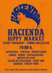 HIPPY MARKET at The HACIENDA.  @ Hacienda | Jávea | Comunidad Valenciana | Spain
