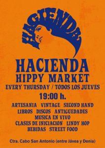 HIPPY MARKET at The HACIENDA. @ Hacienda | Jávea | Comunidad Valenciana | Spain