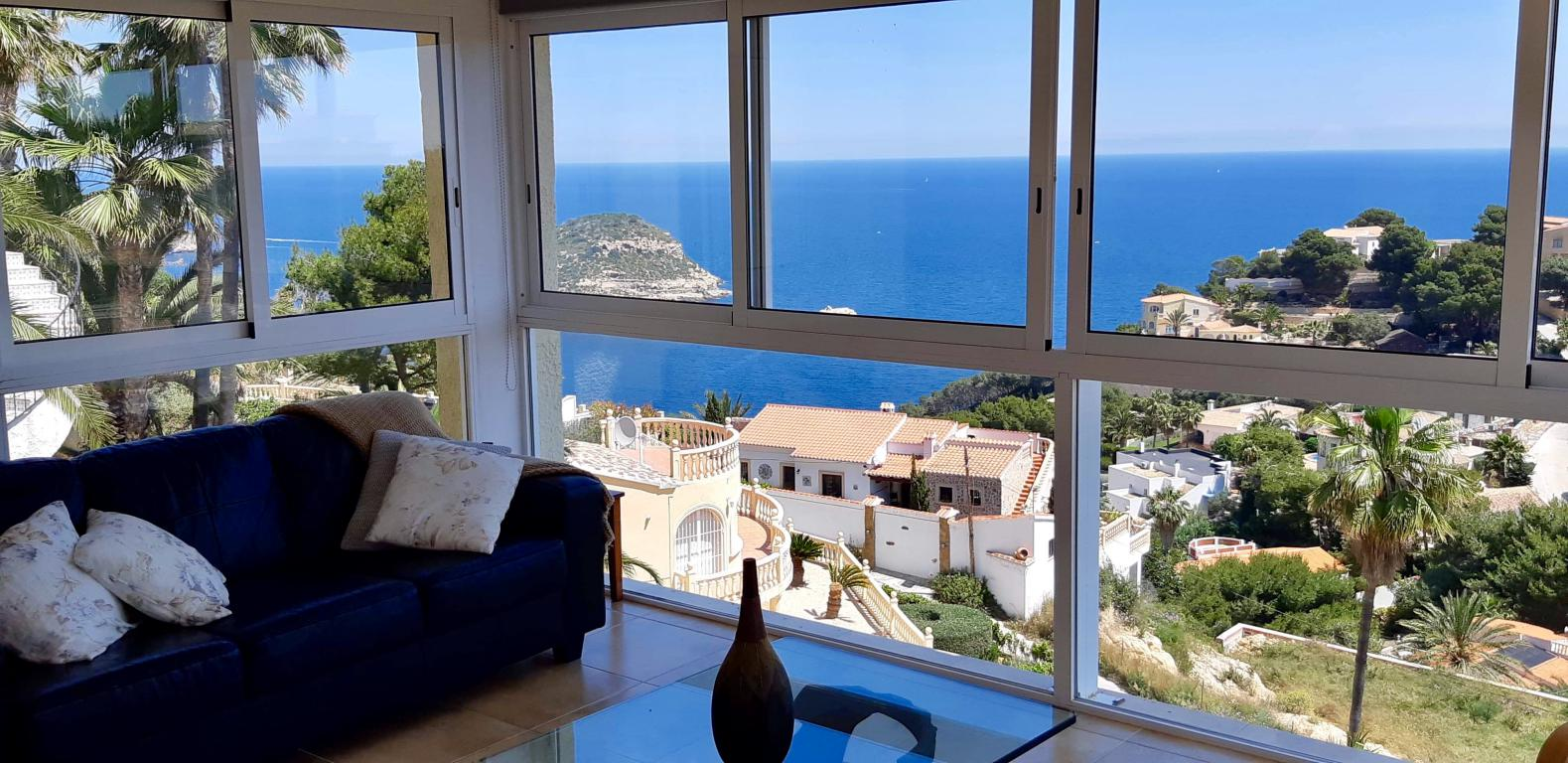 Villa With Stunning Sea and Island Views in Javea