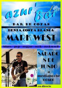 Mark West at Azur Bar @ Azur Bar | Dénia | Comunidad Valenciana | Spain