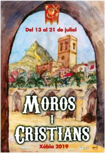 Moors and Christians Festival, Javea 2019. DISEMBARKATION OF THE MOORS @ See Programme | Xàbia | Comunidad Valenciana | Spain