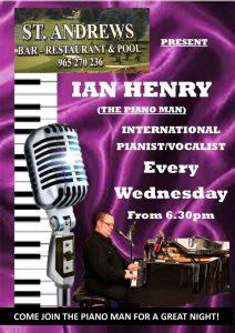 Ian Henry at St Andrew's Rte. @ St Andrew's Bar | Benissa | Comunidad Valenciana | Spain