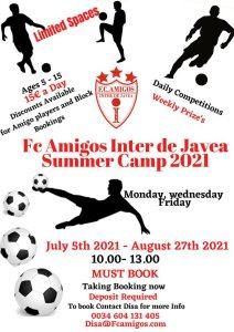 FC Amigos Summer Camp @ Camo Mesquides | Bahía de Jávea | Comunidad Valenciana | Spain