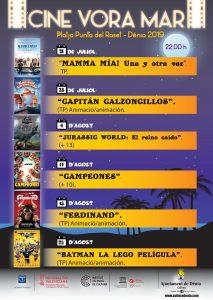 Summer Movies on Denia Beach @ PUNTA DEL RASET BEACH | Dénia | Comunidad Valenciana | Spain