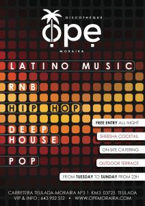 Late Night Entertainment at OPE Moraira @ Ope | Teulada | Comunidad Valenciana | Spain