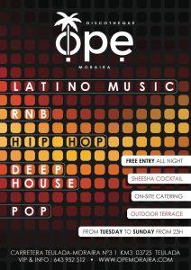 Late Night Entertainment at OPE Moraira @ Ope | Teulada | Comunidad Valenciana | Spain
