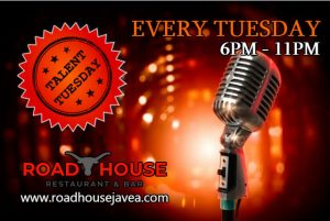 Talent Tuesday at The Road House @ Novas | Costa Nova | Comunidad Valenciana | Spain