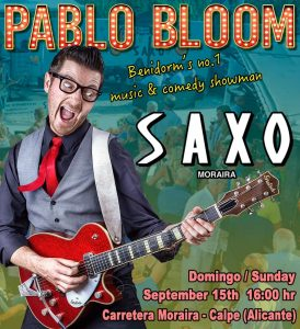 Pablo Bloom at Saxo Gardens, Moraira @ Saxo Disco Garden Chill Out | Moraira | Comunidad Valenciana | Spain