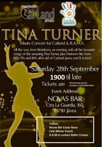 Tina Turner Tribute Fundraiser at Novas @ Novas   Costa Nova   Comunidad Valenciana   Spain