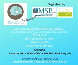 Let's talk about CONVENIO ESPECIAL at Cafe Cortado @ Cafe Cortado | Jávea | Comunidad Valenciana | Spain