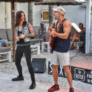 Rafa & Karol at Saxo Gardens, Moraira @ Saxo Disco Garden Chill Out | Moraira | Comunidad Valenciana | Spain