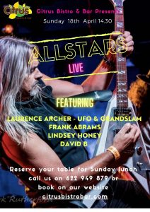 The Allstars at Citrus Bar @ Citrus Bar | Orba | Comunidad Valenciana | Spain