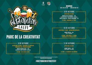 Octoberfest La Nucia 2021 @ See Programme Below | Valencian Community | Spain