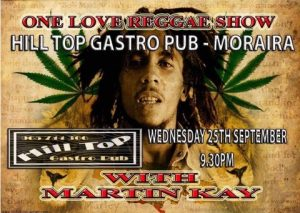 Reggae Show with Martin Kay at The Hill Top Gastro Bar @ Hilltop Gastro | Teulada | Comunidad Valenciana | Spain