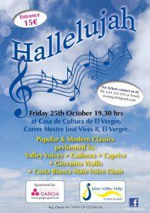 Halleluja Concert @ Casa Cultura | El Verger | Comunidad Valenciana | Spain