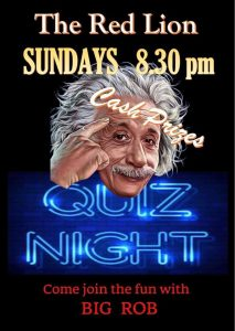 Fun Quiz with Big Rob @ The Red LIon | Moraira | Comunidad Valenciana | Spain