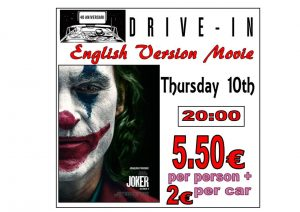 In English.. The Joker at the Drive In Denia @ Dénia | Comunidad Valenciana | Spain