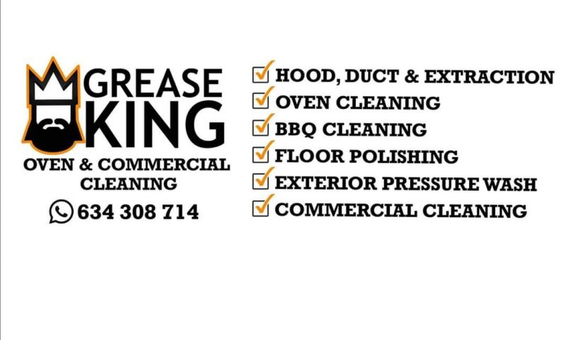 GreaseKing Commercial and Domestic Cleaning Services