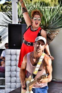 Rafa and Janyssha at Saxo Gardens, Moraira @ Saxo Disco Garden Chill Out | Moraira | Comunidad Valenciana | Spain