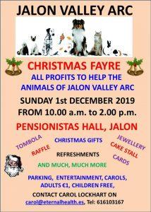 Jalon Valley ARC Christmas Fair @ Pensionistas Hall | Jalón | Valencian Community | Spain