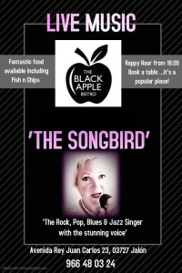 The Songbird at Black Apple @ Black Apple | Málaga | Andalucía | Spain