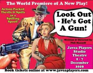 Look Out He's Got a Gun - Javea Players @ Javea Players Studio Theatre | Xàbia | Spain