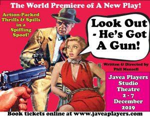 Look Out He's Got a Gun - Javea Players @ Javea Players Studio Theatre | Xàbia | Spain