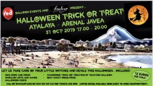 Trick or Treat on The Arenal @ Atalaya | Xàbia | Comunidad Valenciana | Spain