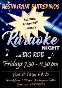 Big Rob's Karaoke Show at Entrepinos @ Entrepinos | Benissa | Comunidad Valenciana | Spain