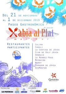 Xabia al Plat @ Various Restaurants | Xàbia | Valencian Community | Spain