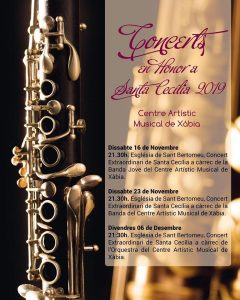 Concert in honour of patron Saint Cecilia! @ Iglesia de San Bartolomé | Xàbia | Comunidad Valenciana | Spain