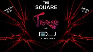 Steve Solo's Karaoke Night at the Square Bar @ The Square | Moraira | Valencian Community | Spain