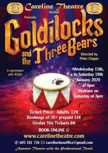 Panto at Careline Theatre - Goldilocks and the Three Bears...... Oh Yes You Will ;) @ Careline Theatre | Alcalalí | Comunidad Valenciana | Spain