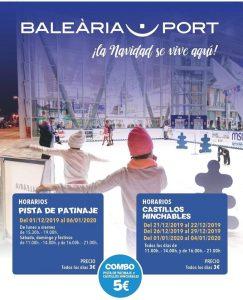 Christmas Skating and Bouncing in Denia Port @ denia port | Dénia | Comunidad Valenciana | Spain