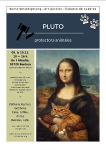 Two Day Auction for Pluto Animal Protection @ Benissa | Comunidad Valenciana | Spain