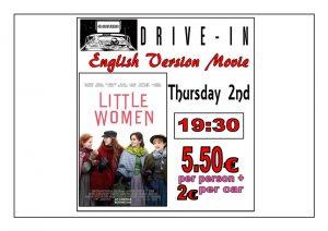 Little Women In English at the Drive In Denia @ Dénia | Comunidad Valenciana | Spain