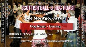 Scottish Ball & Hog Roast at SeeMontgo @ Seemontgo Rte.   Jávea   Comunidad Valenciana   Spain