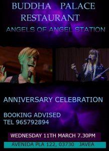 Angels from Angel Station at Buddha Palace @ Buddha Palace   Xàbia   Spain