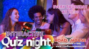 Interactive Quiz at The Road House @ Novas | Costa Nova | Comunidad Valenciana | Spain
