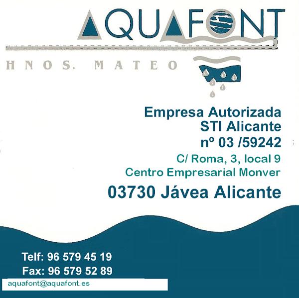Aquafont