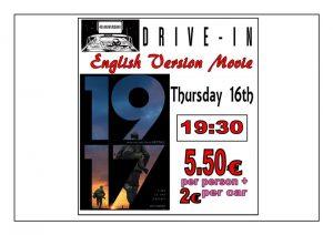1917 In English.. at the Drive In Denia @ Dénia | Comunidad Valenciana | Spain