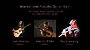 International Acoustic Guitar Night @ The Dome Centre | Alcalalí | Comunidad Valenciana | Spain