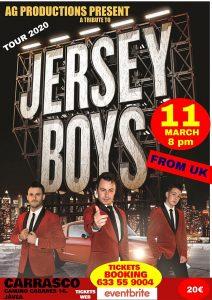 Jersey Boys at Carrasco, Javea @ Carrasco | Jávea | Comunidad Valenciana | Spain