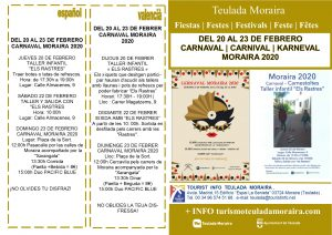 Carnival in Moraira @ Moraira - See Programme Below | Dénia | Comunidad Valenciana | Spain