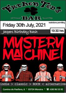 Mystery Machine at Father Ted's @ Father Ted's Bar | Teulada | Comunidad Valenciana | Spain