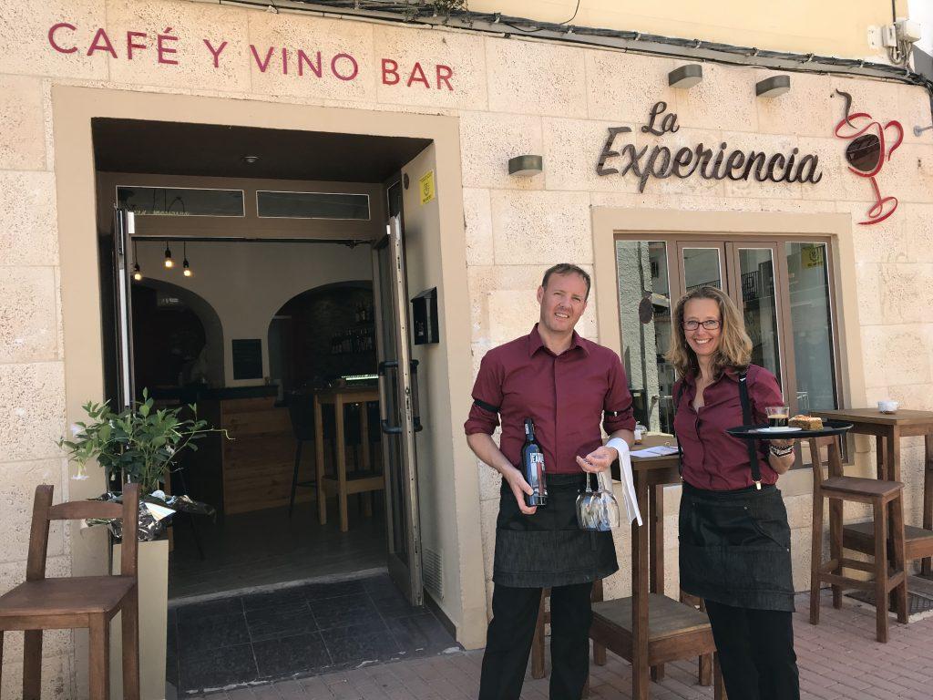 La Experiencia, Café y Vinobar