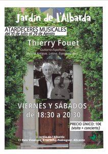 Summer Concerts at l'Albarda Gardens @ L'Albarda Gardens | Muntanya de la Sella | Comunidad Valenciana | Spain