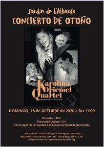 Autumn Concert at l'Albarda Gardens @ L'Albarda Gardens | Muntanya de la Sella | Comunidad Valenciana | Spain