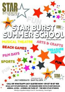 Star Burst Summer School @ Platja de l'Arenal | Comunidad Valenciana | Spain